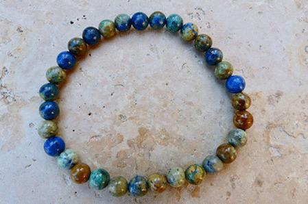 Bracelet Malachite Azurite