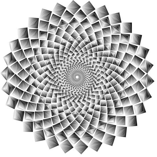Expression vibratoire des ondes de forme