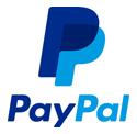 Paiement par paypal possible