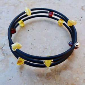 Bracelet ambre baroque
