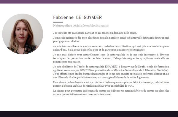 Fabienne LE GUYADER